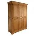 Armario rstico de madera en tres puertas Ecorstico