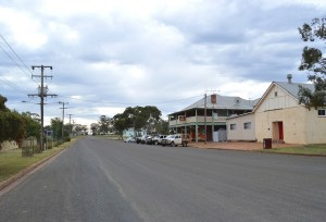 In the 1880s and 1890s the biggest platinum field in the world was in Fifield, NSW. Pictured is the main street as it looks today. Image: Flickr Image: Flickr