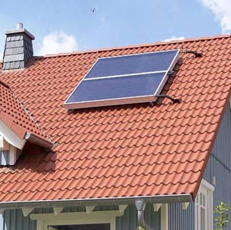 zonne-boiler gezinshuis