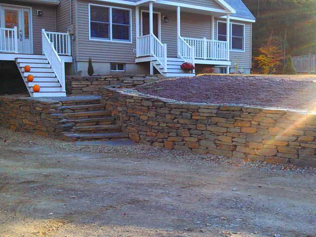 After goshen steps/wall