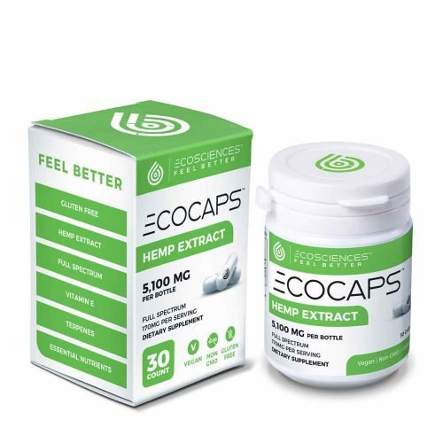 ECOCAPS Full Spectrum CBD Pills