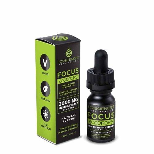 ECODROPS Focus Full Spectrum Tincture 10ml