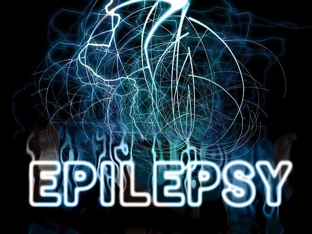 Graphic image that says Epilepsy