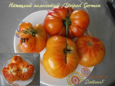 томат Striped German