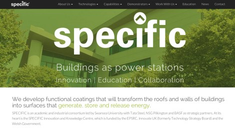 Our friends at SPECIFIC have a shiny new website