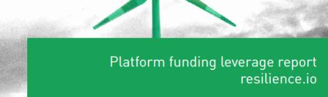 Platform funding leverage report resilience.io