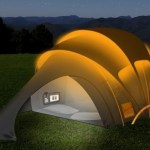 Solartechnik am Zeltplatz - Solar Tent