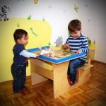 Umweltfreundliche Vollholzmöbel für Kinder