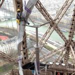 Der Eiffelturm wurde ökologisch aufgerüstet