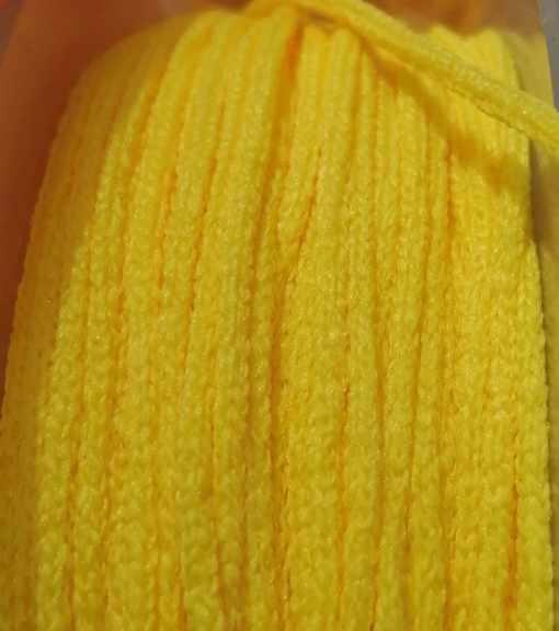 goma-cordon-mascarilla-amarillo