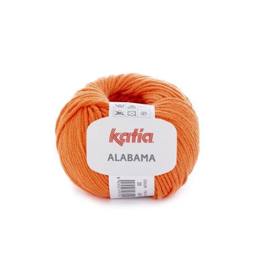 lana-hilo-alabama-tejer-acrilico-algodon-naranja-primavera-verano-katia-25-fhd