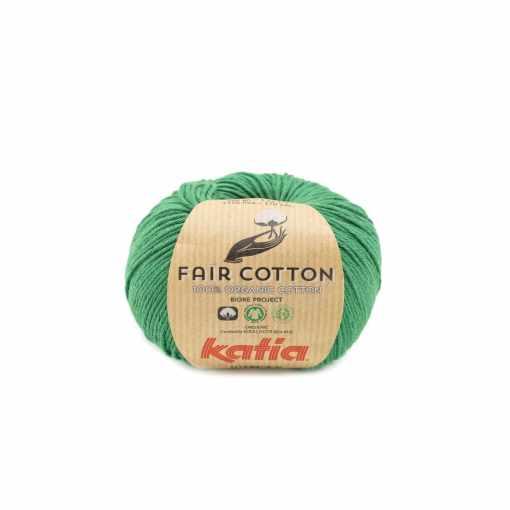 lana-hilo-faircotton-tejer-algodon-verde-botella-primavera-verano-katia-42-fhd