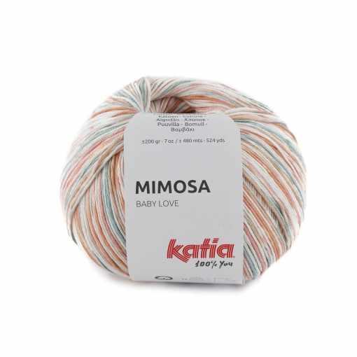 lana-hilo-mimosa-tejer-algodon-naranja-coral-azul-agua-primavera-verano-katia-300-fhd