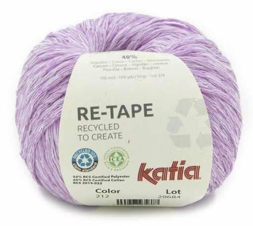 lana-hilo-retape-tejer-poliester-reciclado-de-botellas-de-plastico-algodon-rosa-primavera-verano-katia-212-fhd