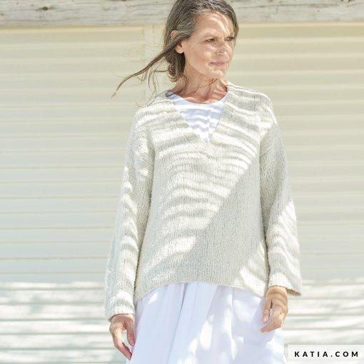 patron-tejer-punto-ganchillo-mujer-jersey-primavera-verano-katia-6254-1-g