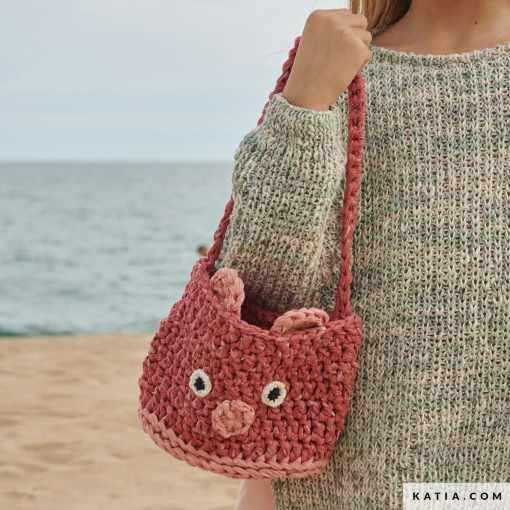patron bolso crochet niños 2021
