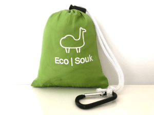 EcoSouk bag in pouch