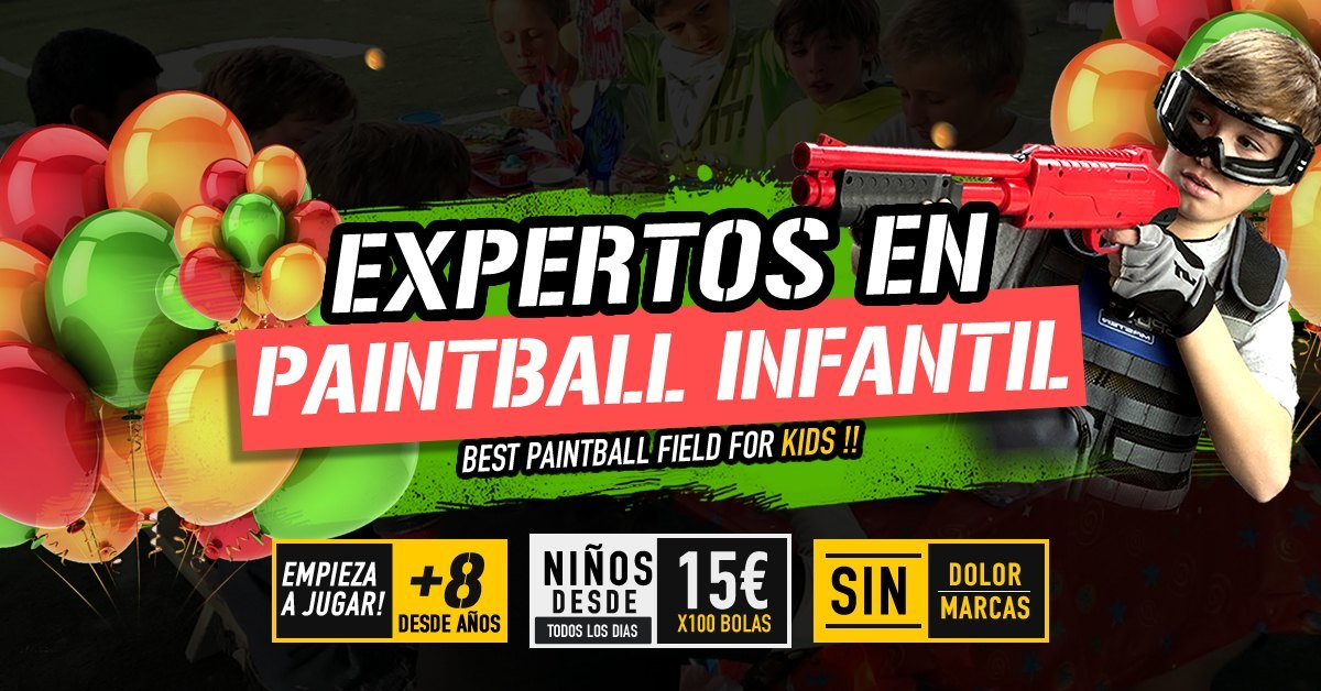 EcoSport Granada Paintball kid