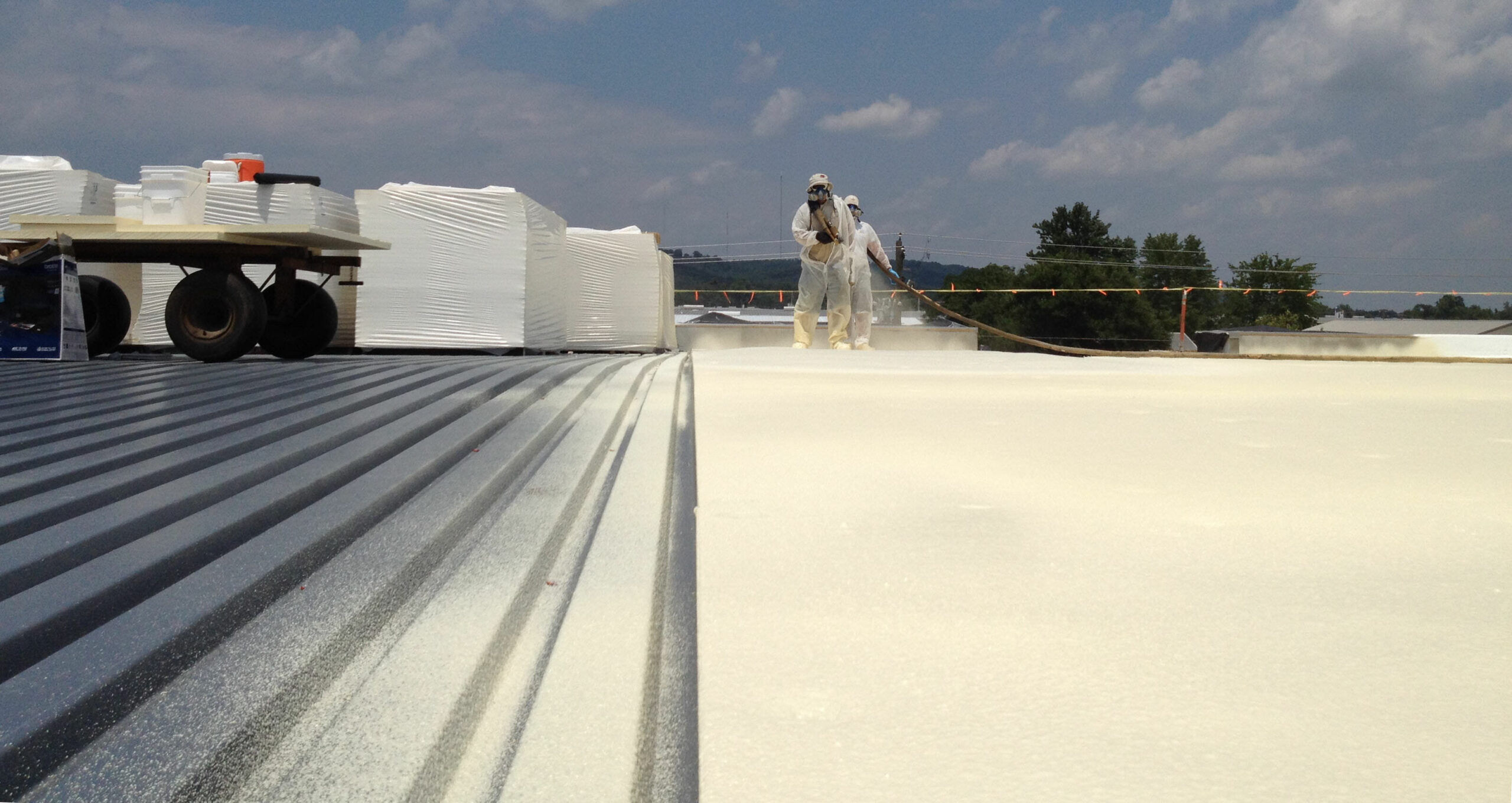 Spray Foam Roofing Insulation