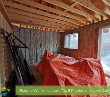 Exterior Wall Insulation: Top 5 Problems to Look Out For
