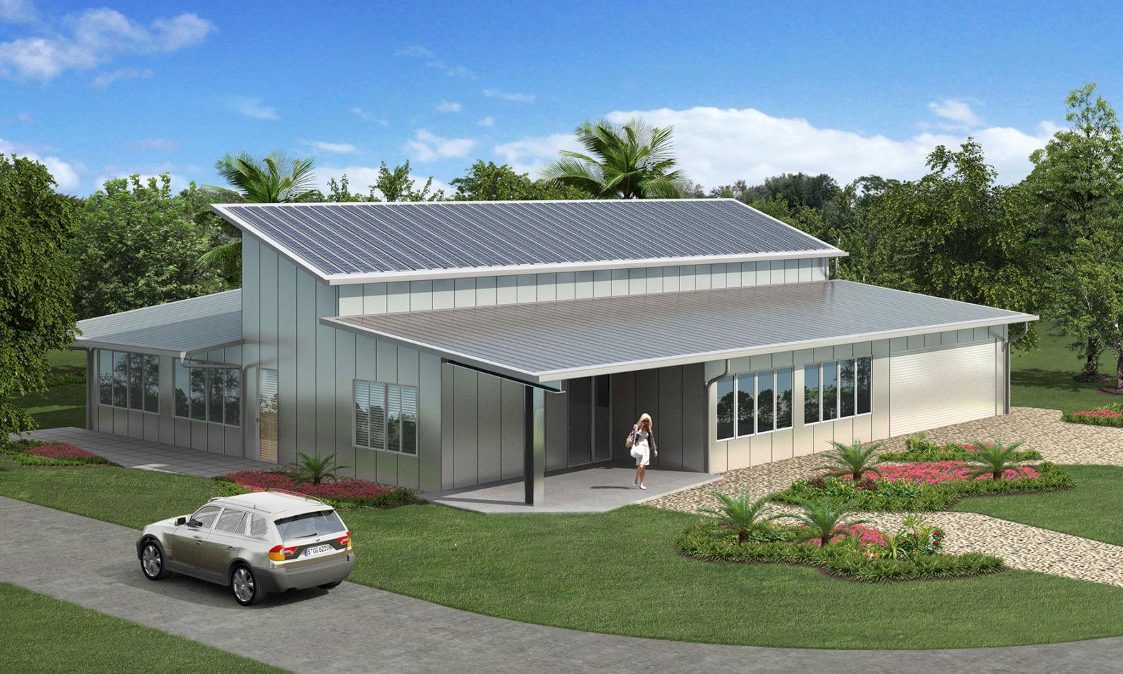 Tin Box EcoSteel Prefab Homes & Green Building Steel