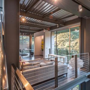 Santa Barbara Fire Rebuild EcoSteel Architectural