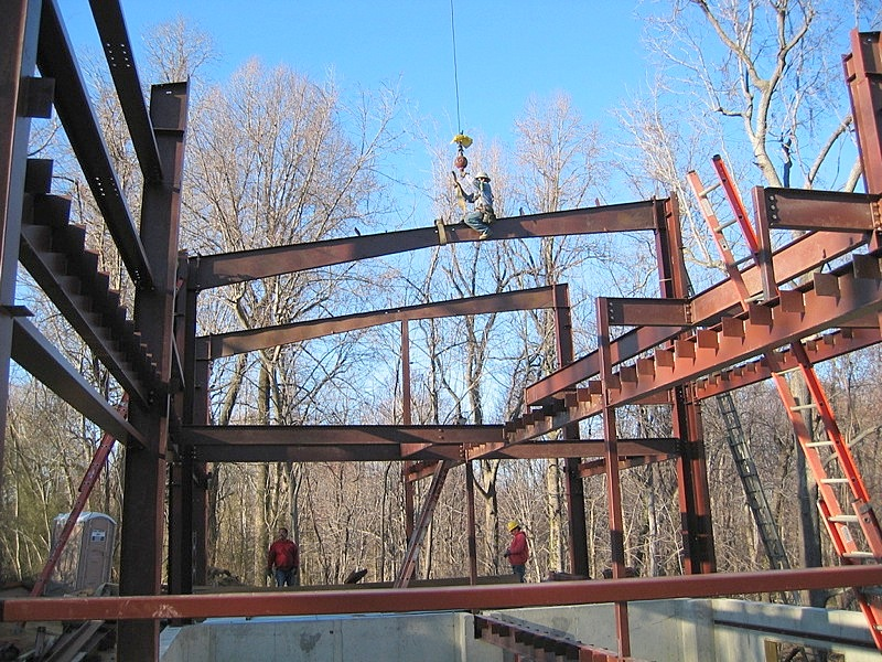 Rafter Beams EcoSteel Prefab Homes & Green Building