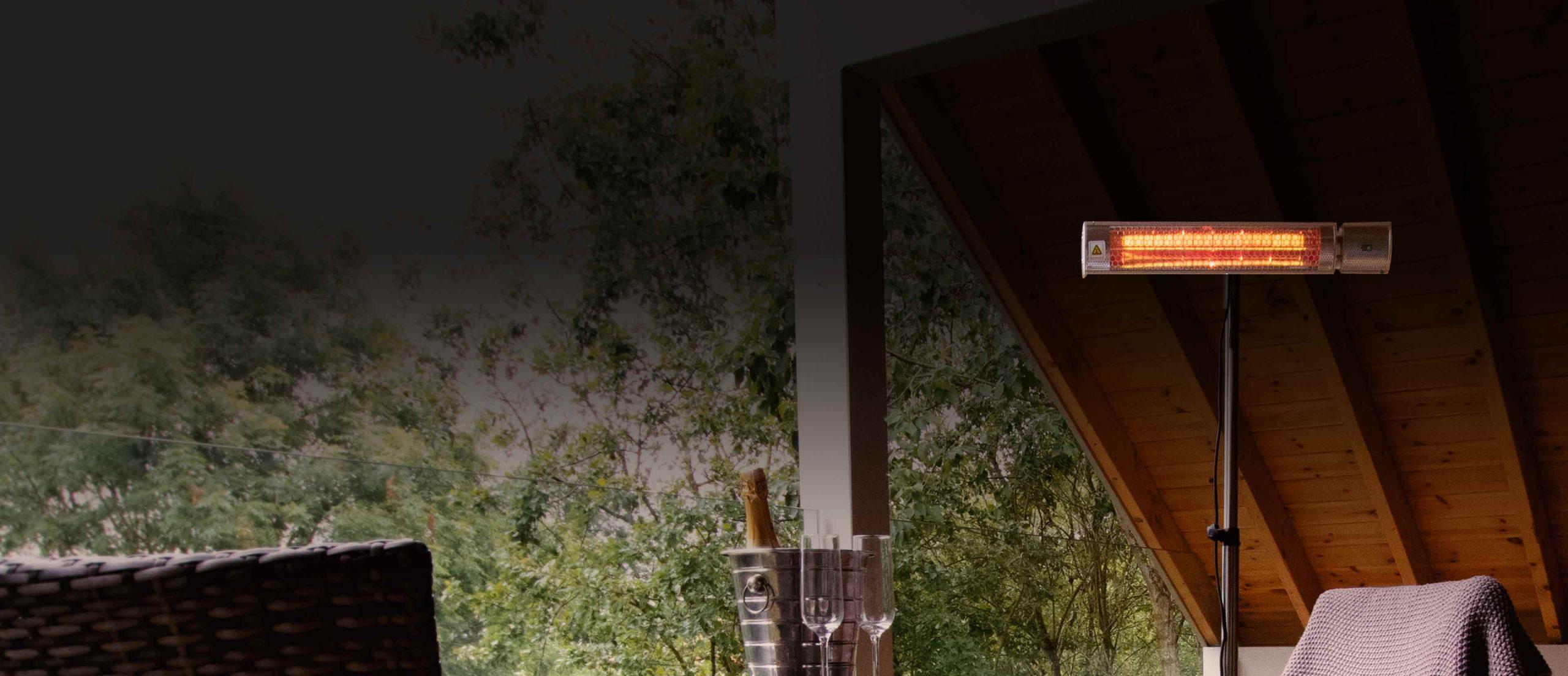 ecostrad sunglo electric patio heater