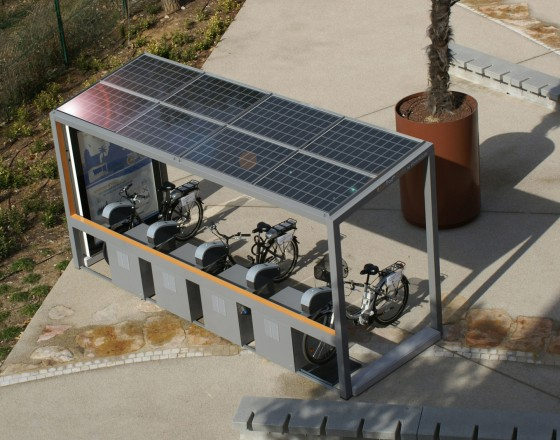 SunPod Cyclo - Solar Electric Bike Charging