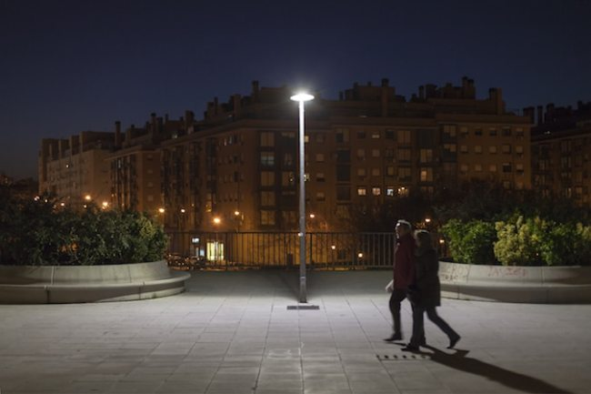 Philips LED Street Lights in Madrid