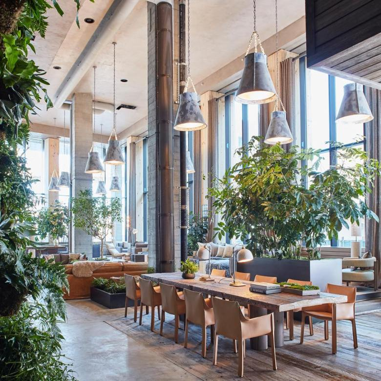 Luxurious Nature Inspired Hotel Opens At Brooklyn Bridge
