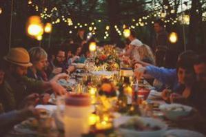 Shrimp plate Trading Post at Ecotone Farm -Farm To Table Events Evening dinner