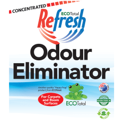 ECOTotal Australia safe and natural Odour Eliminator household cleaning product label