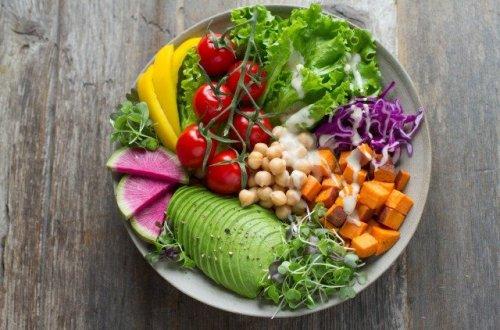 comida de vegano