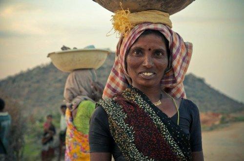 mujer indiana