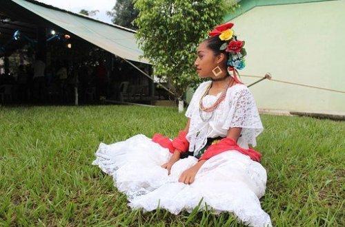 chica indigena en México