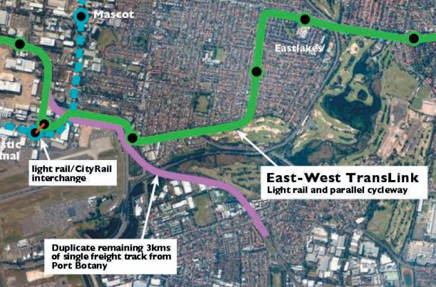 EcoTransit - Australian Conservation Foundation 9 point transport plan - a sustainable alternative to expanding the M5 Motorway