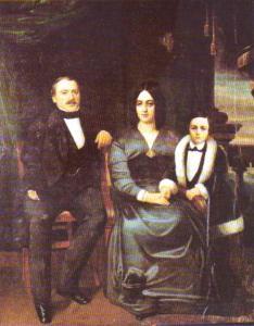 E.Zola et ses parents