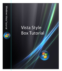 vista box cover template