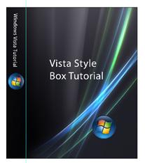 vista box cover template
