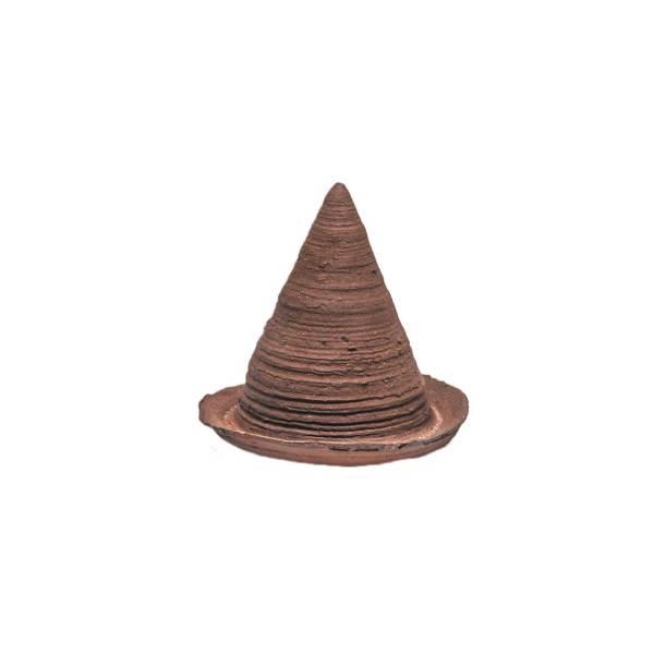 Oorwormenpot, gemaakt uit lariks. Deze nestkast is op maat gemaakt voor oorwormen.