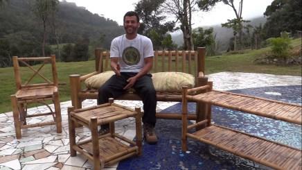 moveis de bambu instituto pindorama