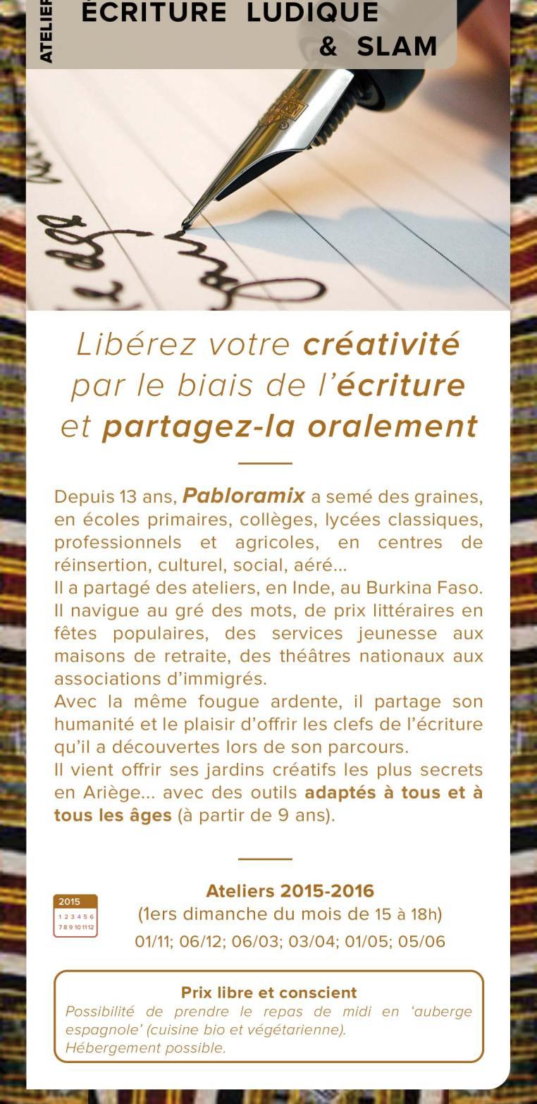 Ateliers ecriture 2015-2016 recto