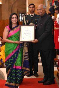 Rhea Singhal_Nari Shakti Award