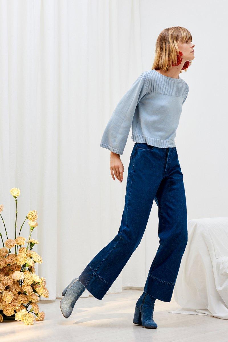 Kowtow classic denim range sustainable fashion new zealand
