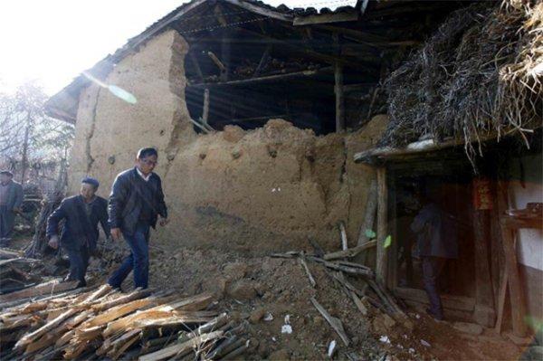 Землетрясения на юго-западе Китая