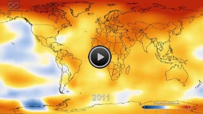 nasa climate map