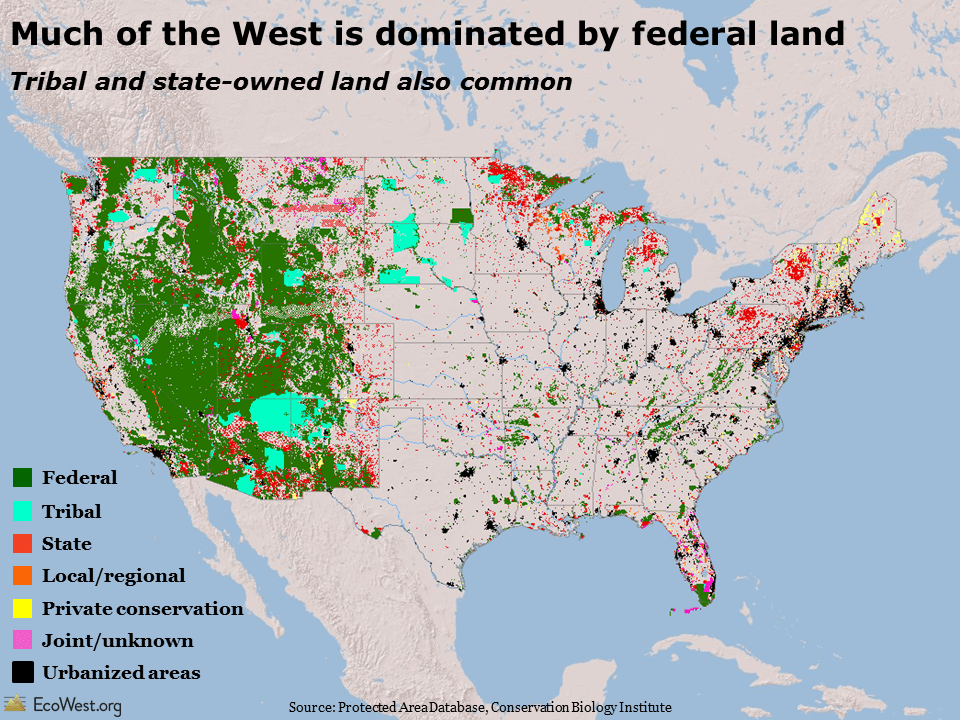Image result for federal land footprint