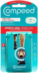 Compeed Sports Heel Blister Plasters
