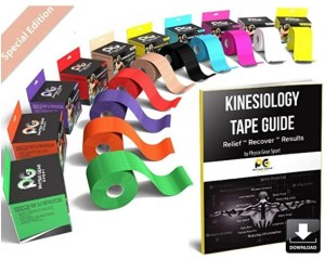 Physix Gear Sport Kinesiology Athletic Tape